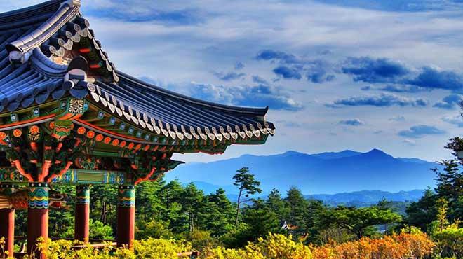 Khung cảnh tuyệt đẹp của Hàn Quốc tháng 6