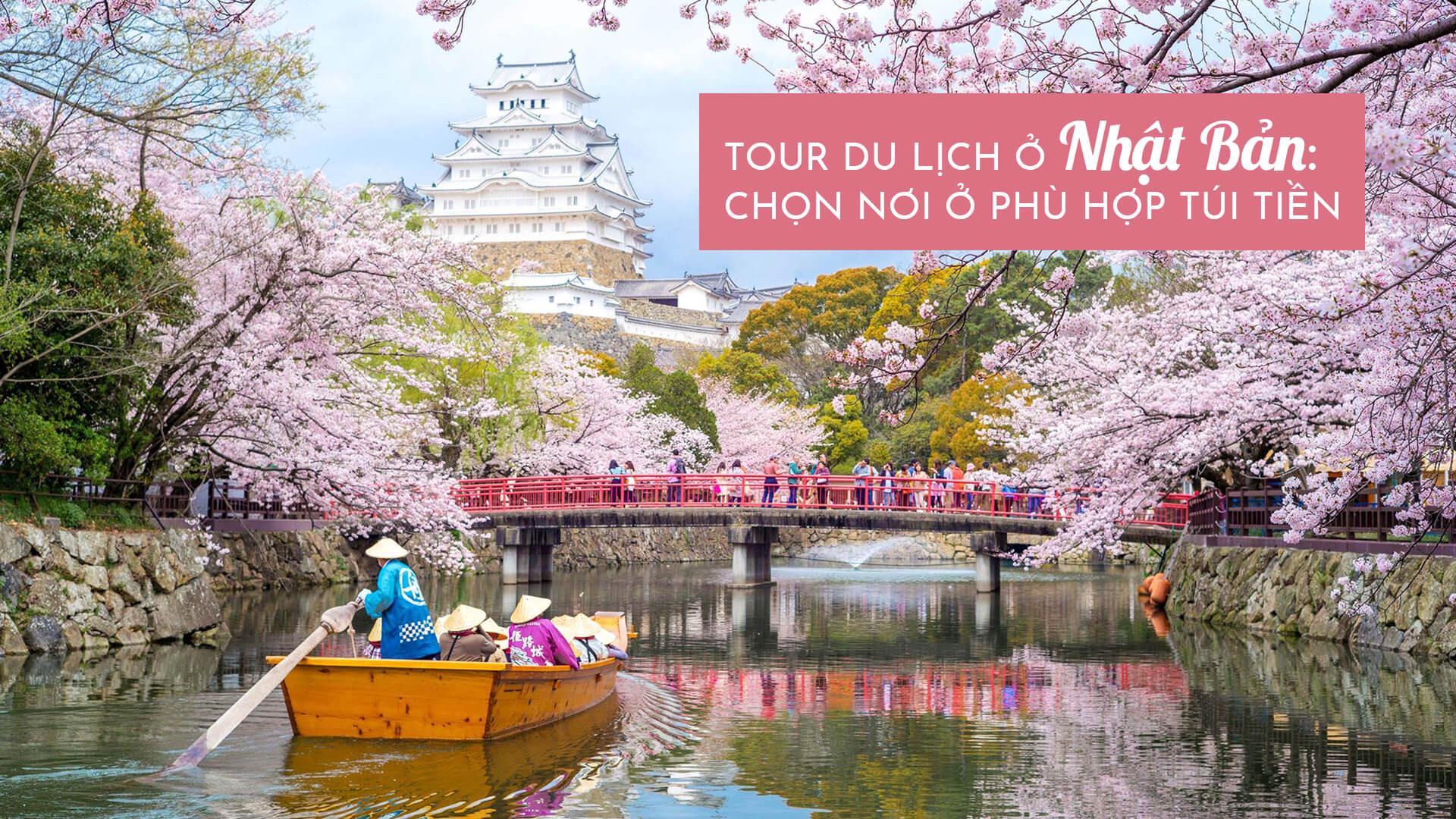 Du lịch ở Nhật Bản: chọn nơi ở phù hợp túi tiền