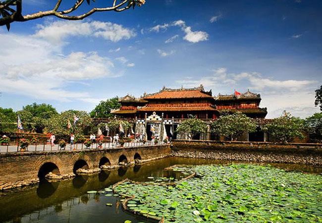 Một góc kinh thành Huế trong chuyến đi Đà Nẵng - Hội An - Huế. Ảnh: Cafef.vn