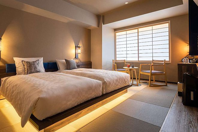 Khách sạn Hotel Resol Kyoto nằm trong khu vực này, nhận được nhiều đánh giá tích cực. Ảnh: unsplash