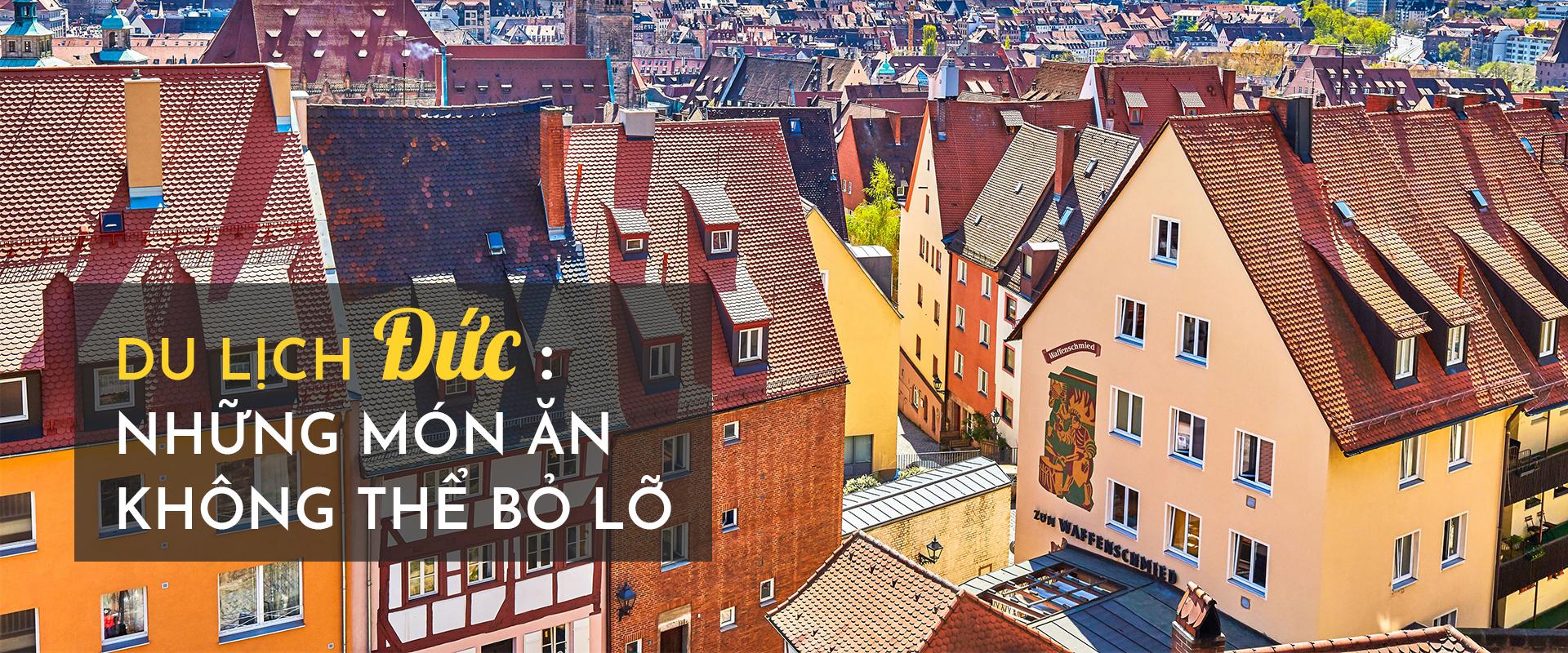 Du lịch Đức: những món ăn không thể bỏ lỡ