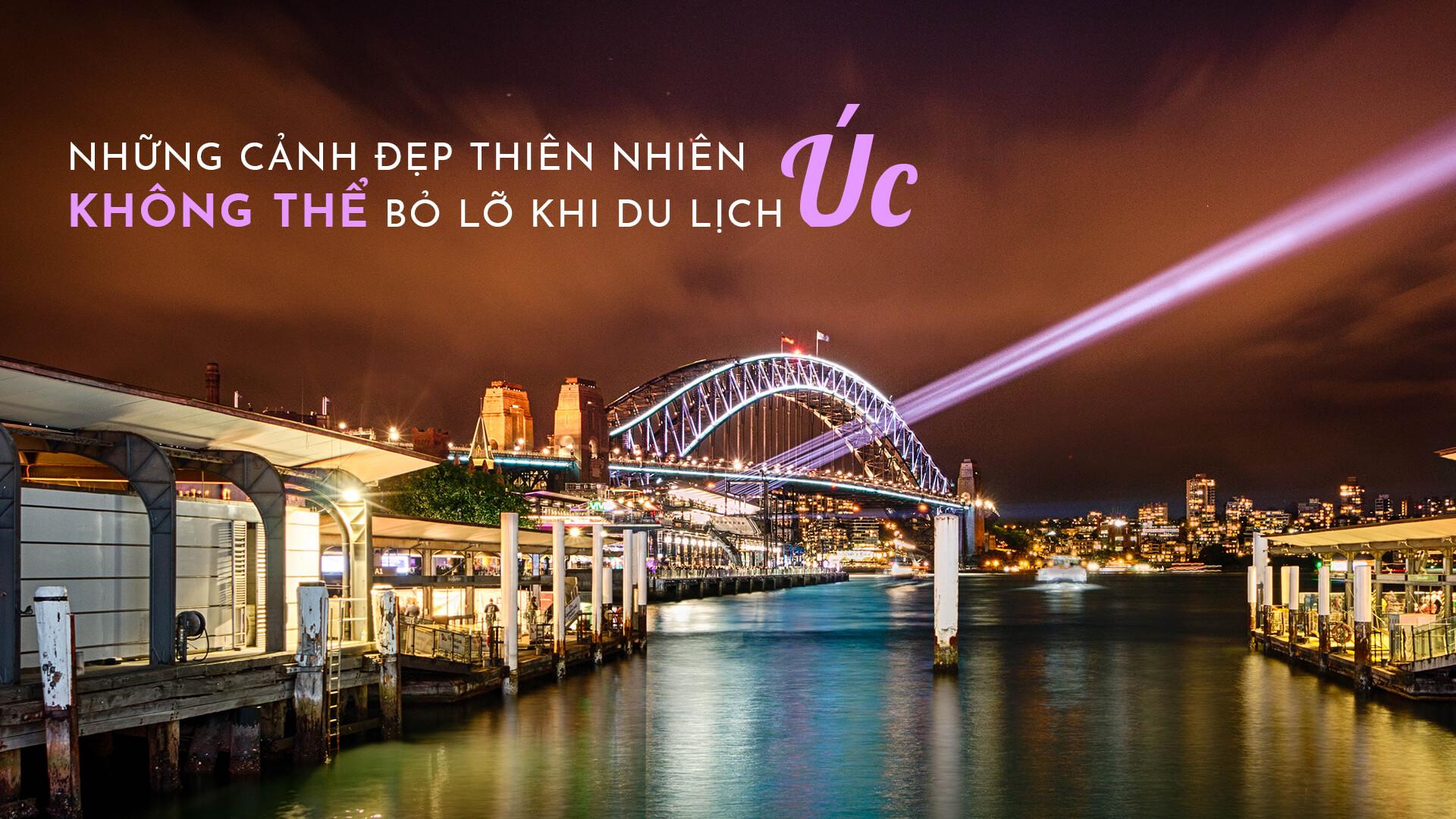 Những địa điểm du lịch Úc không thể bỏ lỡ