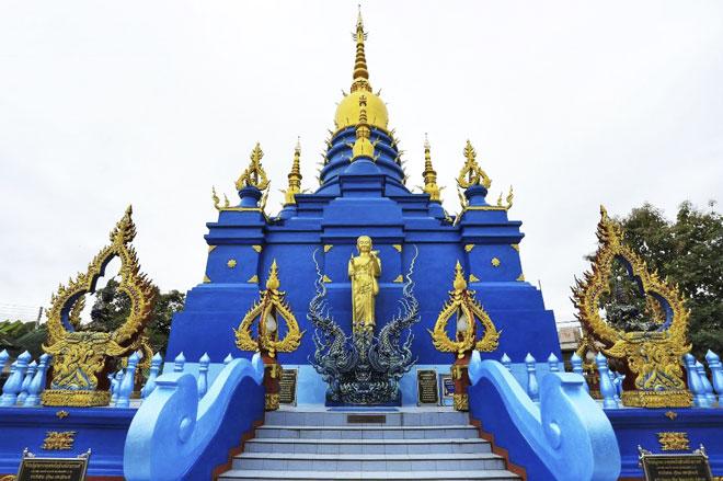 Tour du lịch Thái Lan bao nhiêu tiền: chùa xanh