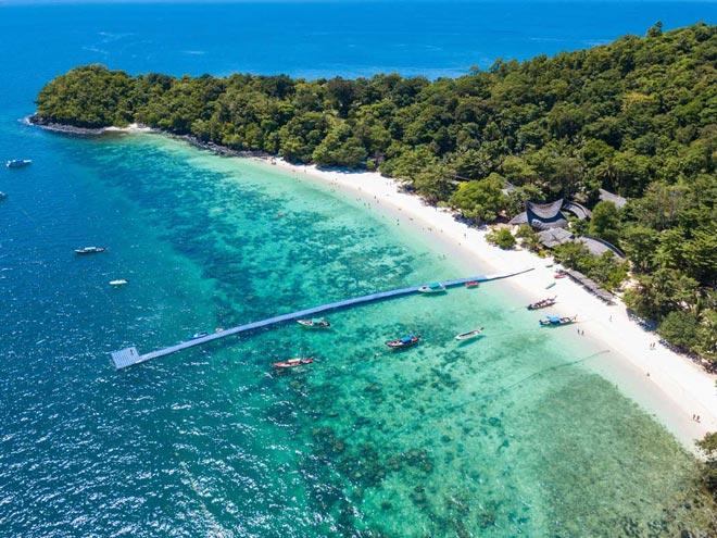 Tour du lịch Thái Lan giá bao nhiêu: Đảo San Hô