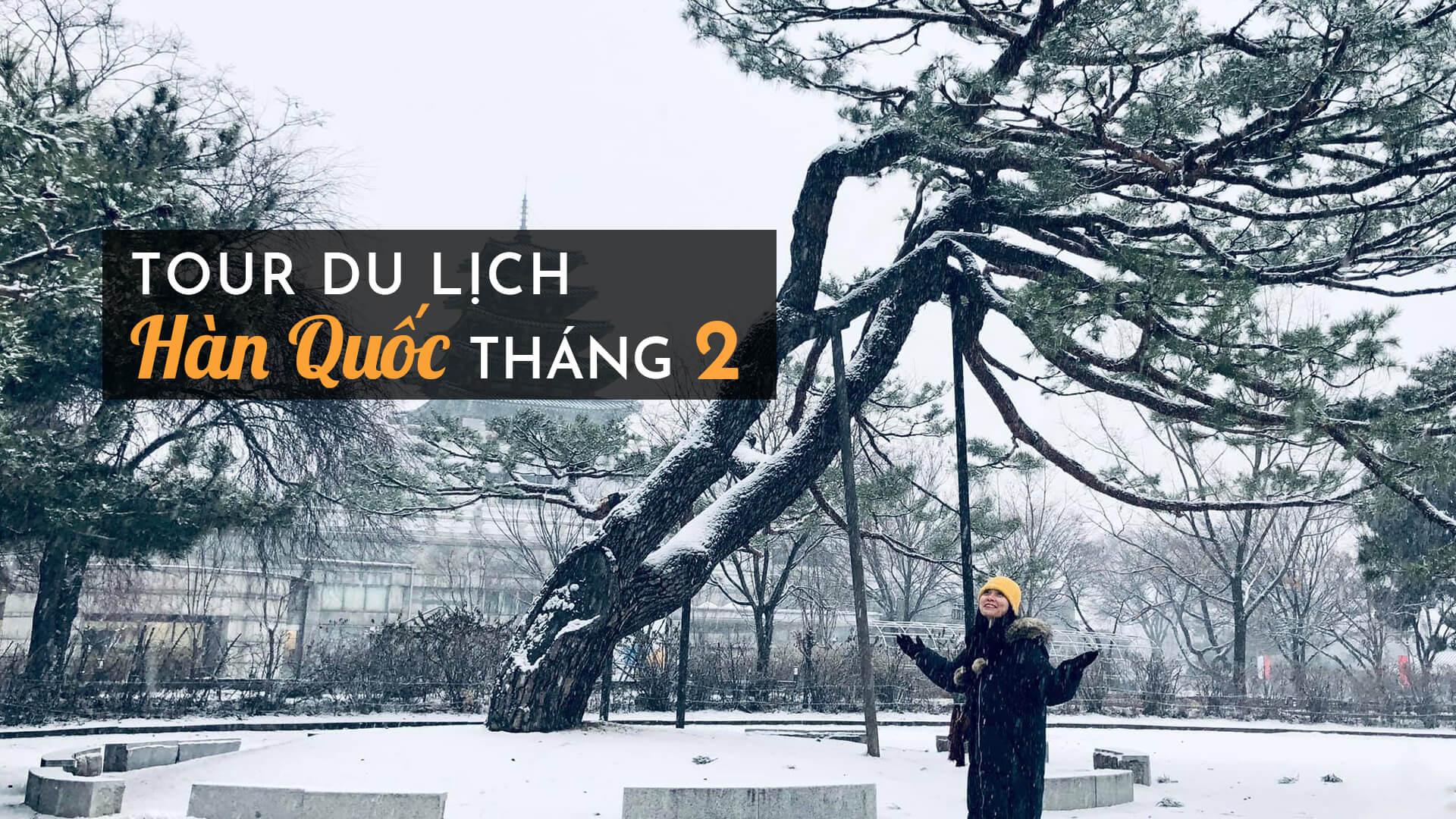 Tận hưởng không khí mùa đông với Tour du lịch hàn quốc tháng 2