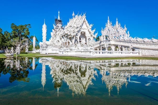 Tour du lịch Thái Lan giá bao nhiêu: chùa Trắng