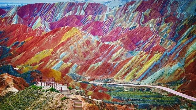 Du lịch Cam Túc Thanh Hải: Thiên đường giữa sa mạc ở Trung Quốc