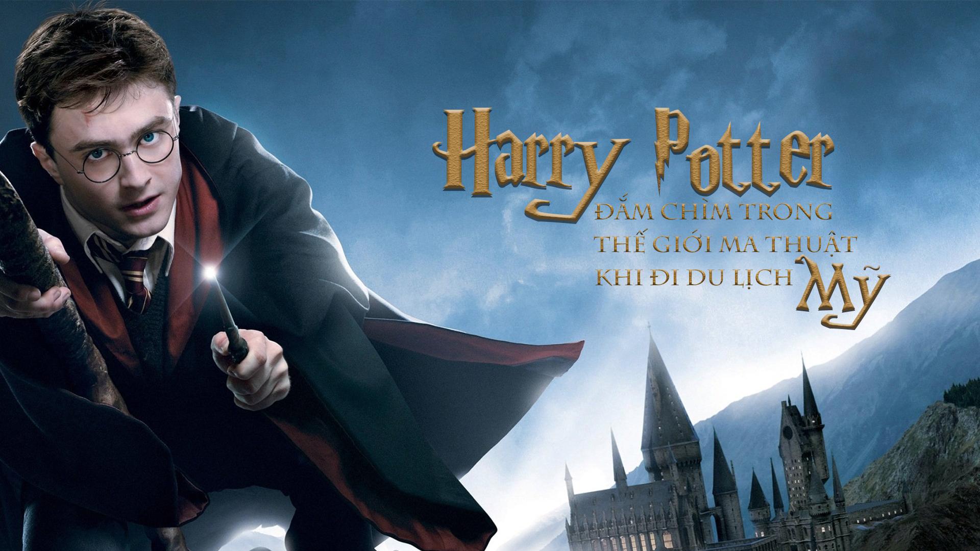 Đắm chìm vào thế giới ma thuật trong Harry Potter khi đi du lịch Mỹ