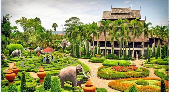 Du lịch Thái Lan: vườn Saithip