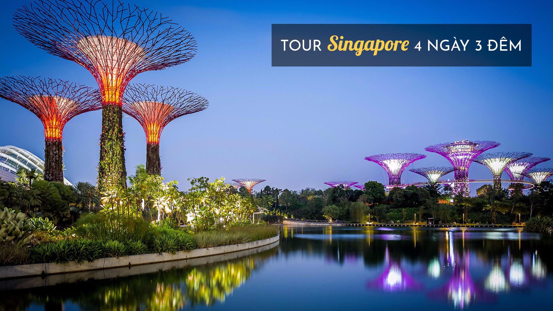 Tour Singapore 4 ngày 3 đêm các tháng năm 2019 từ Hà Nội giá rẻ