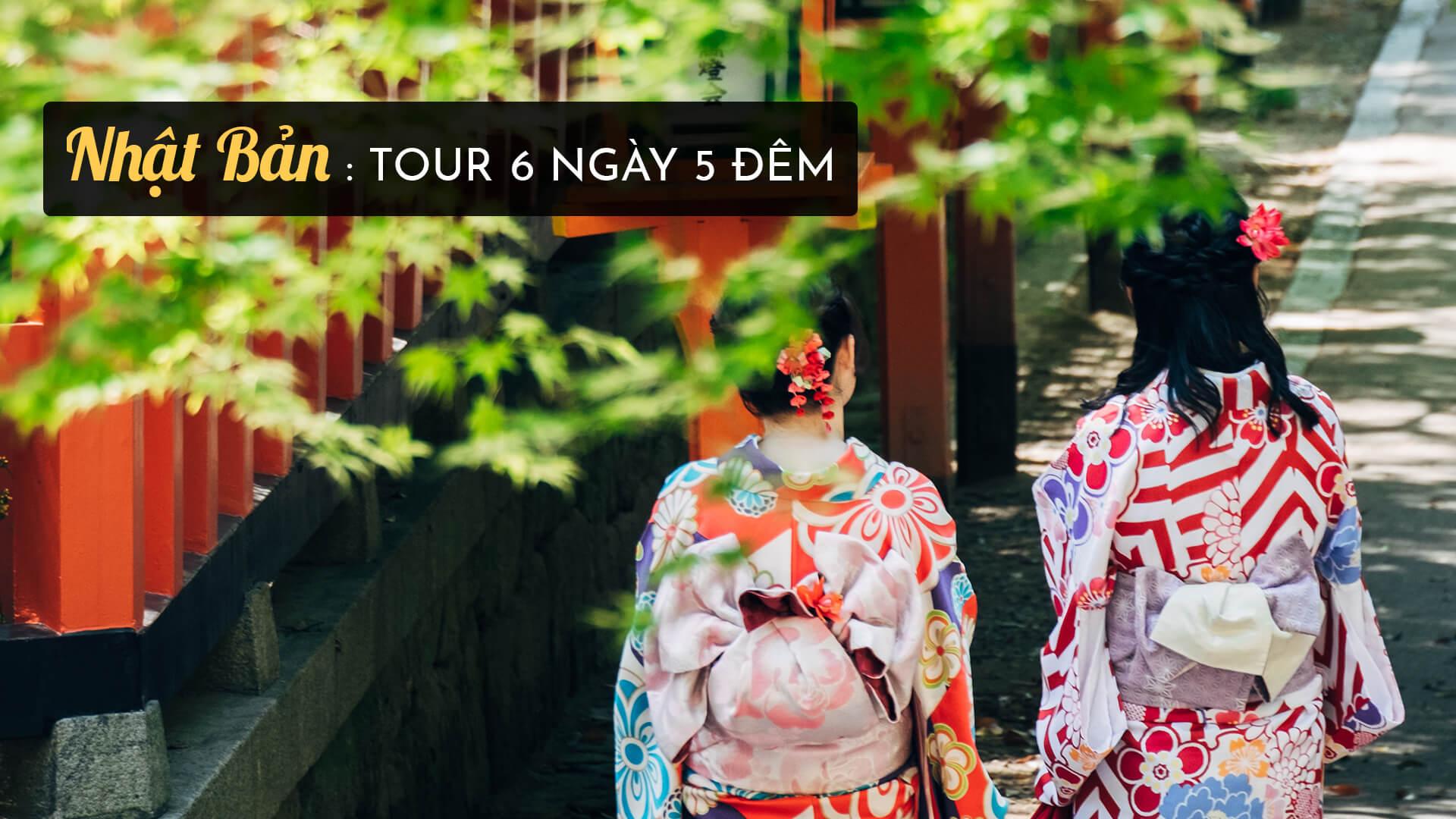 Top 5 tour du lịch Nhật Bản 6 ngày 5 đêm hấp dẫn nhất 2019
